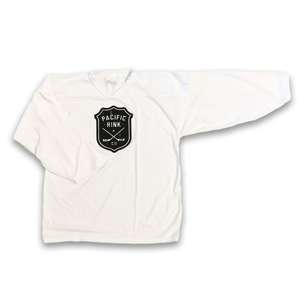 Pacific Rink Practice Jersey Youth | White