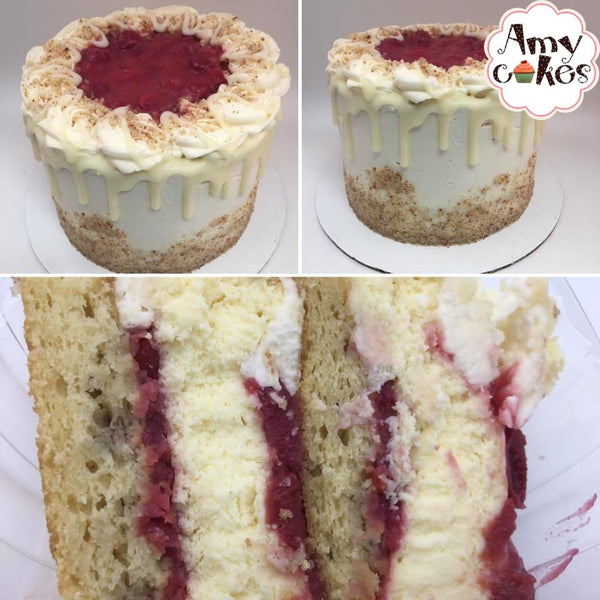 Cherry Almond Cheesecake Amycake
