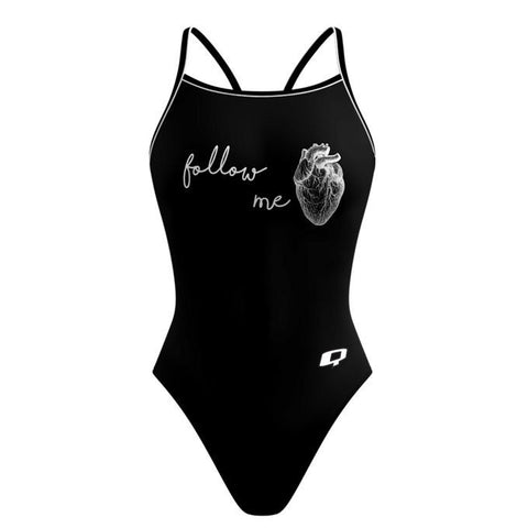 Follow Your Heart Skinny Strap - Alpha Aquatics & Performance