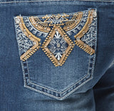 'Wild Child' Hollister- Bling Stretch Jeans - Outback Supply Co