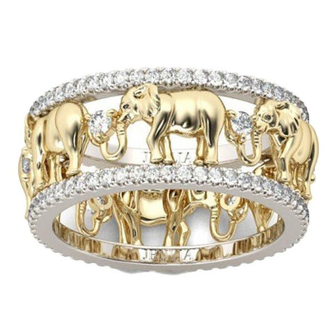 32840215934 - Artisan Handcrafted Elephant Ring