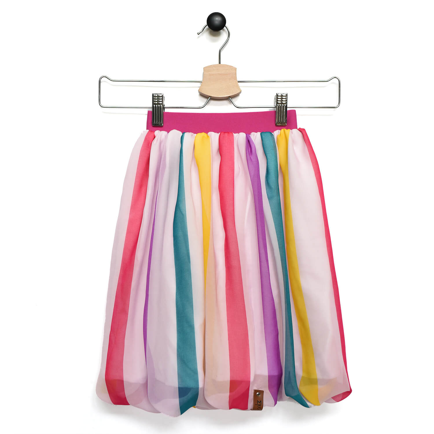 Chelsea Maxi Skirt - Rainbow Stripes