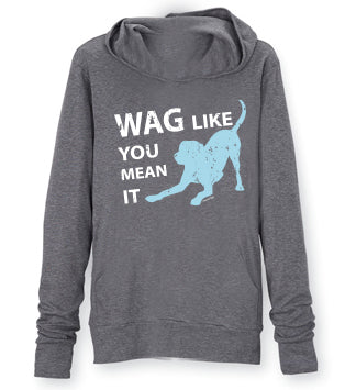 Wag Like You Mean It Zipper Hoodie