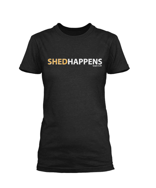 Shed Happens Short Sleeve T-Shirt