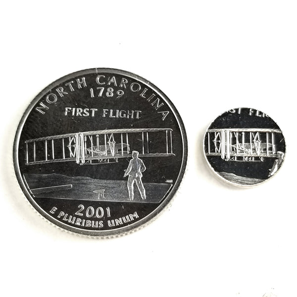 silver north carolina proof quarter