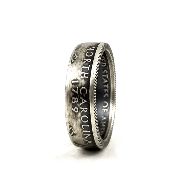 Silver North Carolina Coin Ring by midnight jo