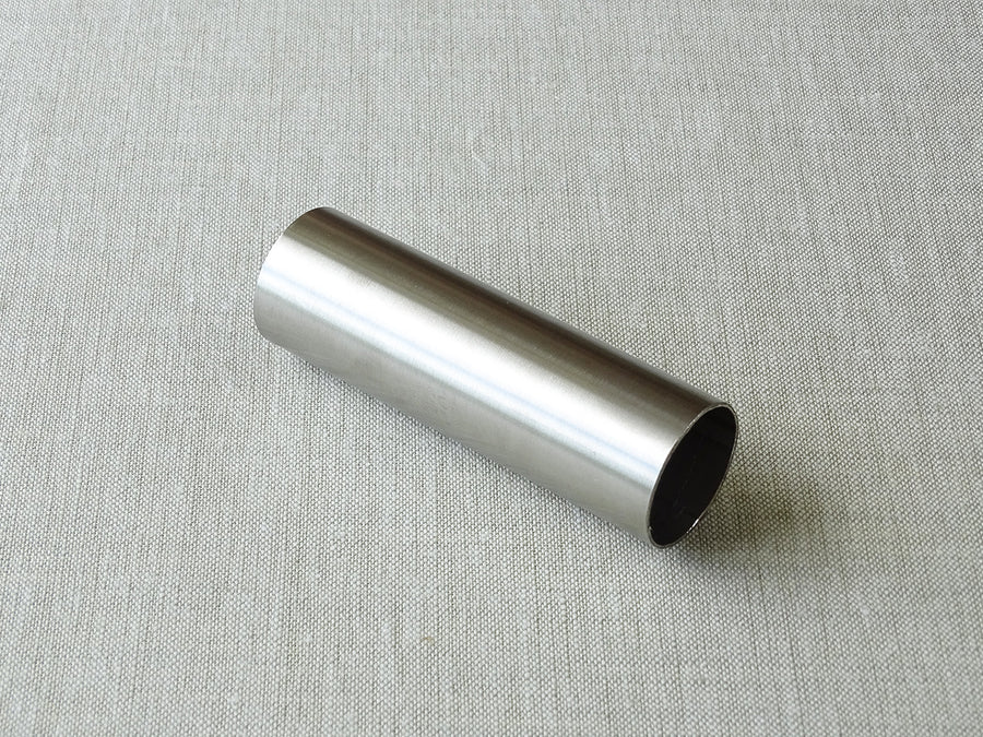 sample of 19mm dia. stainless steel curtain pole - by Walcot House