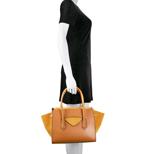 Owlet Flap Handbag - Tan