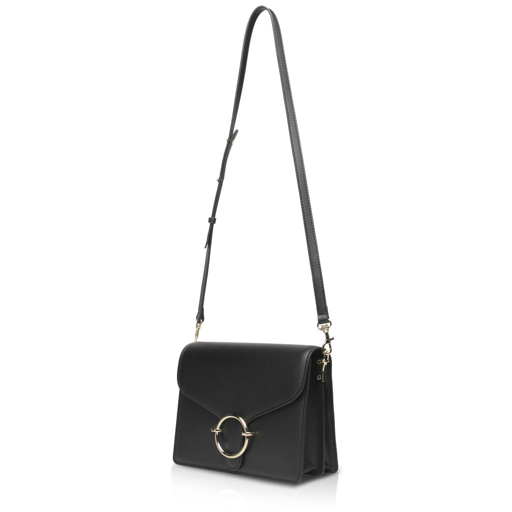 Halo Crossbody Bag - Black