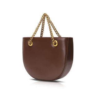 Half Moon Bag - Brown