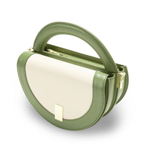 Circle Crossbody Bag - Stone Green