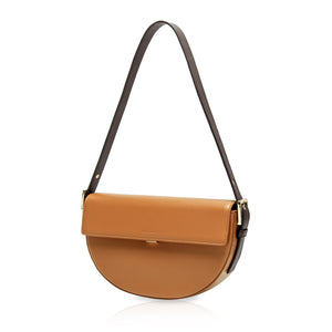 Baguette Shoulder Bag - Brown