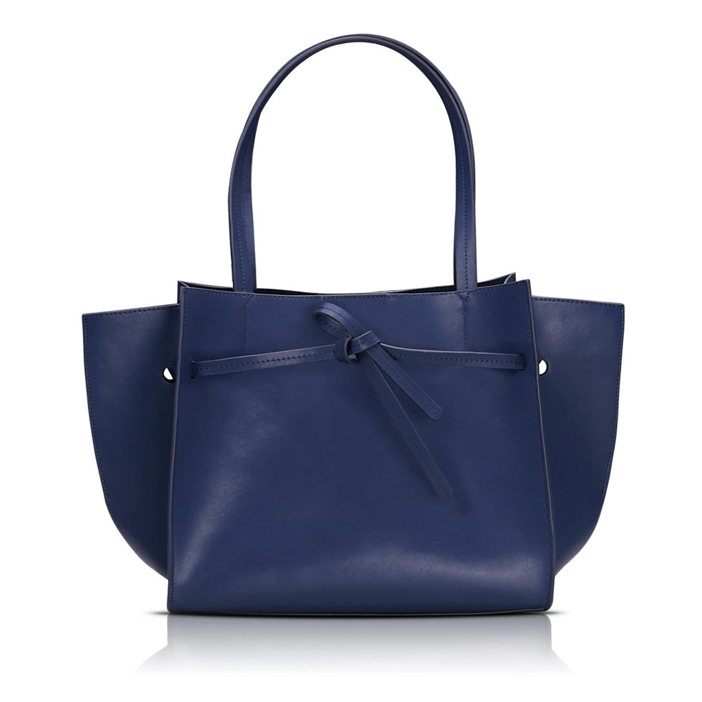 Knot Tote Bag - Navy Blue