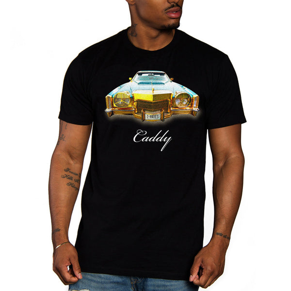 Gold Caddy Tee (Black)