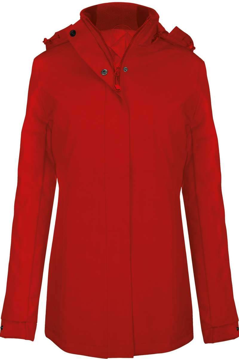 Carlow Women's Parka Jacket Red - Lee Valley Ireland - 2