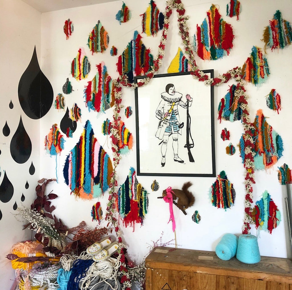 Trish Andersen Fiber Art Installation Modern Macrame Blog Feature