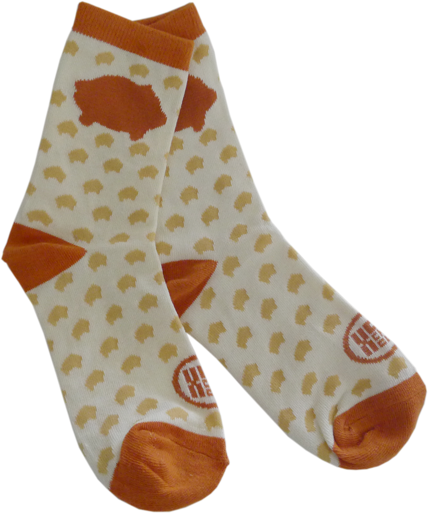 Puerquito women's knit socks