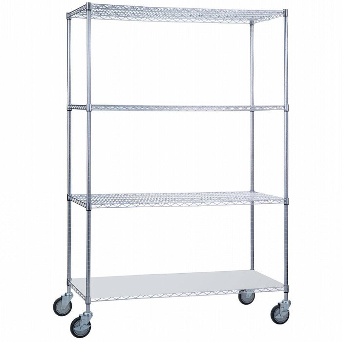 Linen Cart 18 x 48 x 72 With Solid Bottom