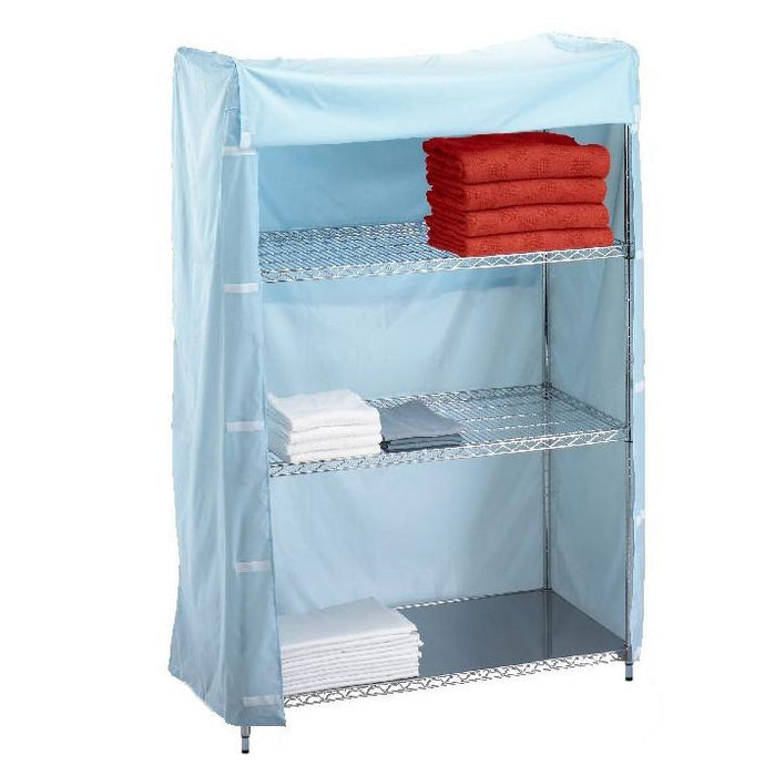 Short Wire Shelving Unit Nylon Cover 18x60x62