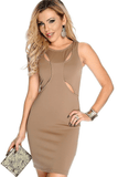 loyally elegant cut out party dress