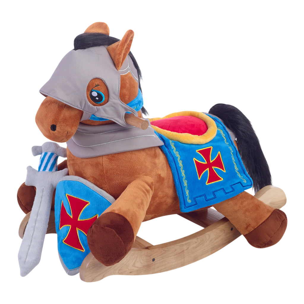 Knights Horse Play and Rock Gift Set