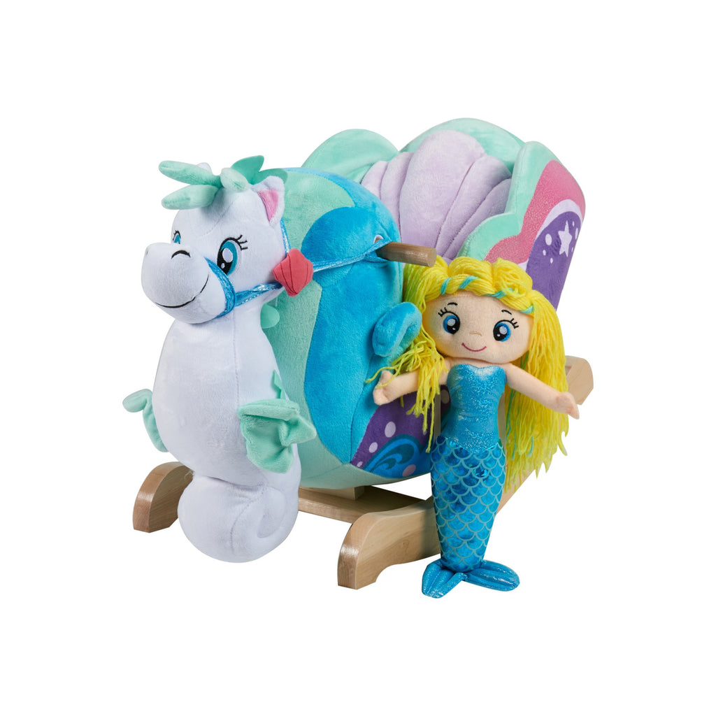 Mermaid Princess Carriage Rocker