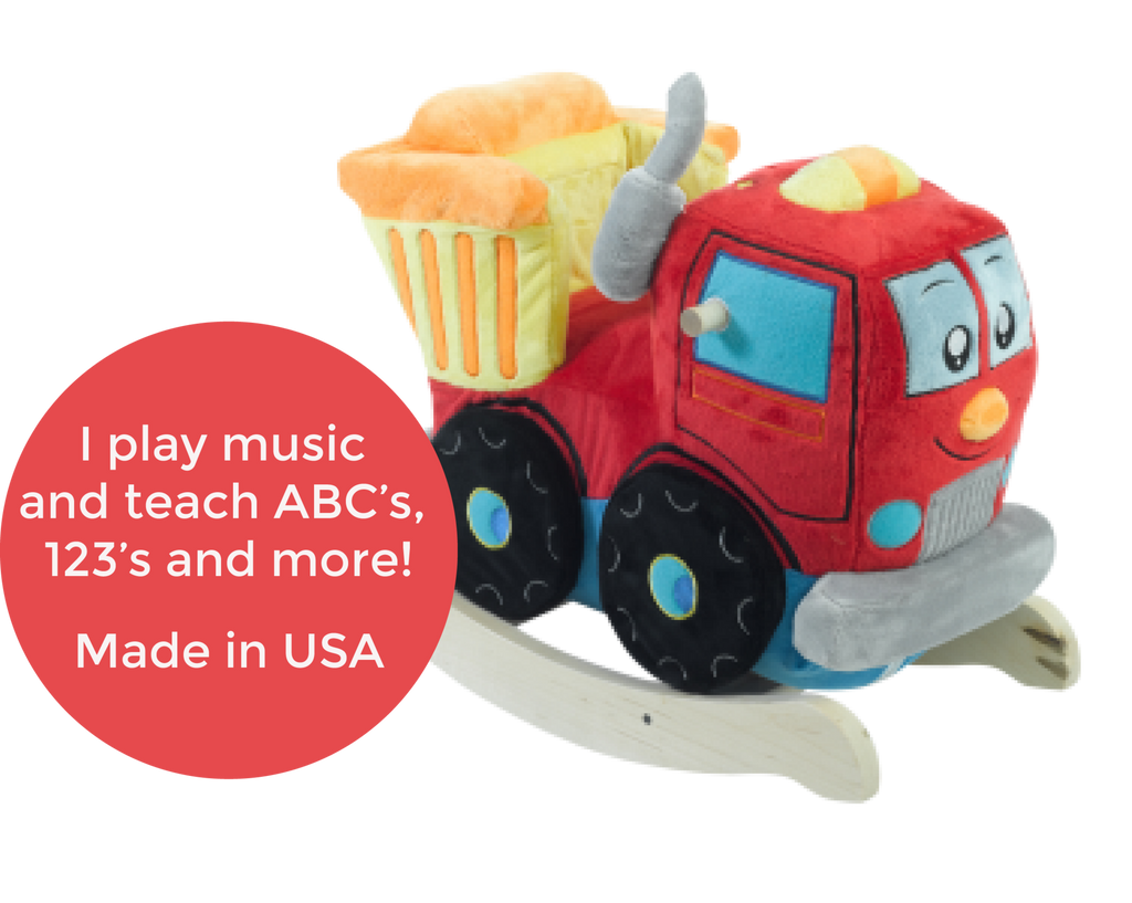 Dumpee The Truck Play And Rock (#RB32) - StorkBabyGiftBaskets - 2
