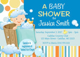 Bubble Bath Baby Shower Invitation