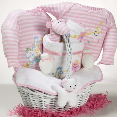Sweet Sugars Lollipop Diaper Cake - Pink #(BGC86)
