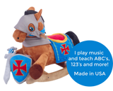 Knights Horse Play and Rock Gift Set (#RB26) - StorkBabyGiftBaskets - 2
