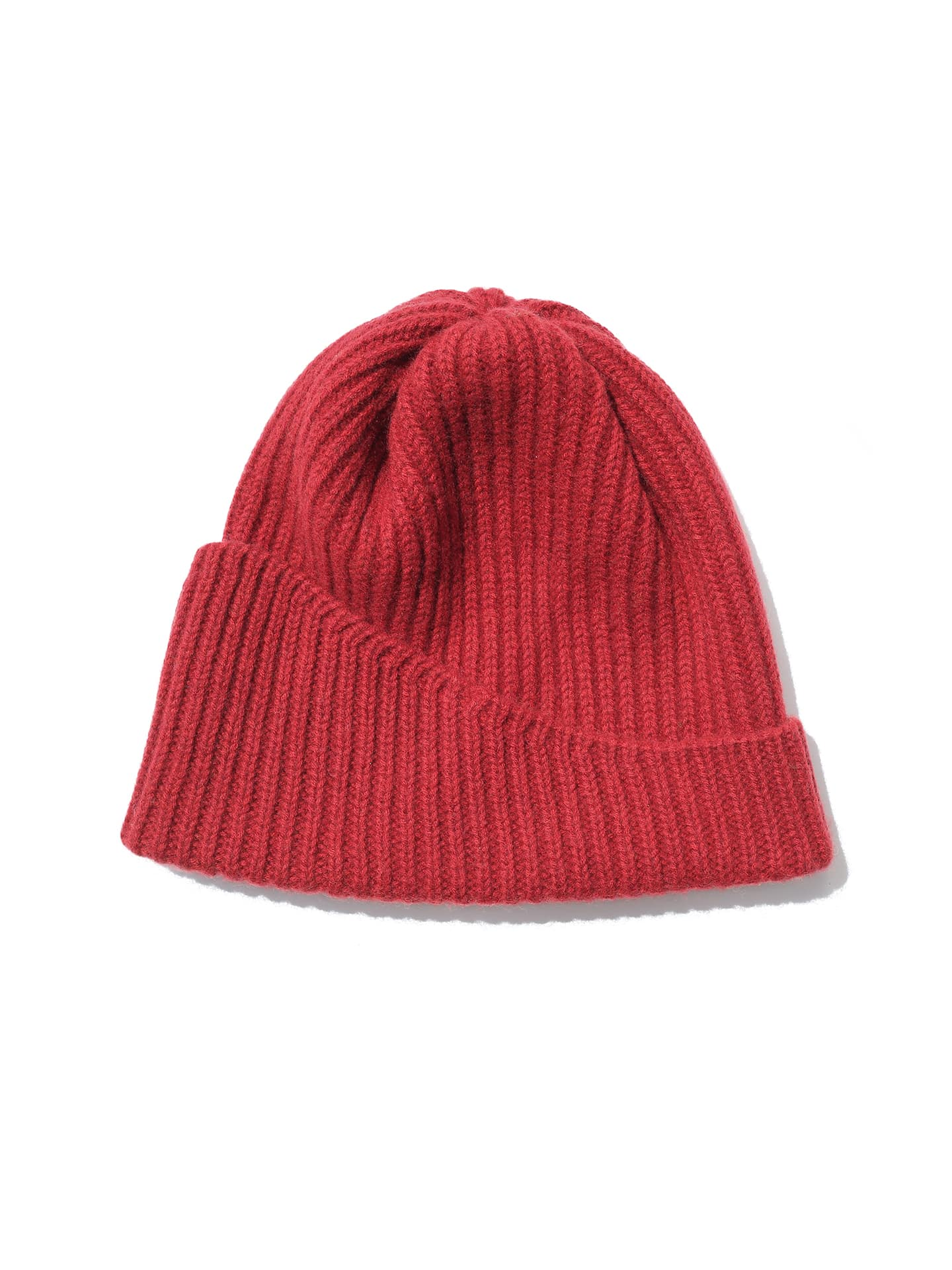 Reshaped Beanie Lambswool - Terracotta