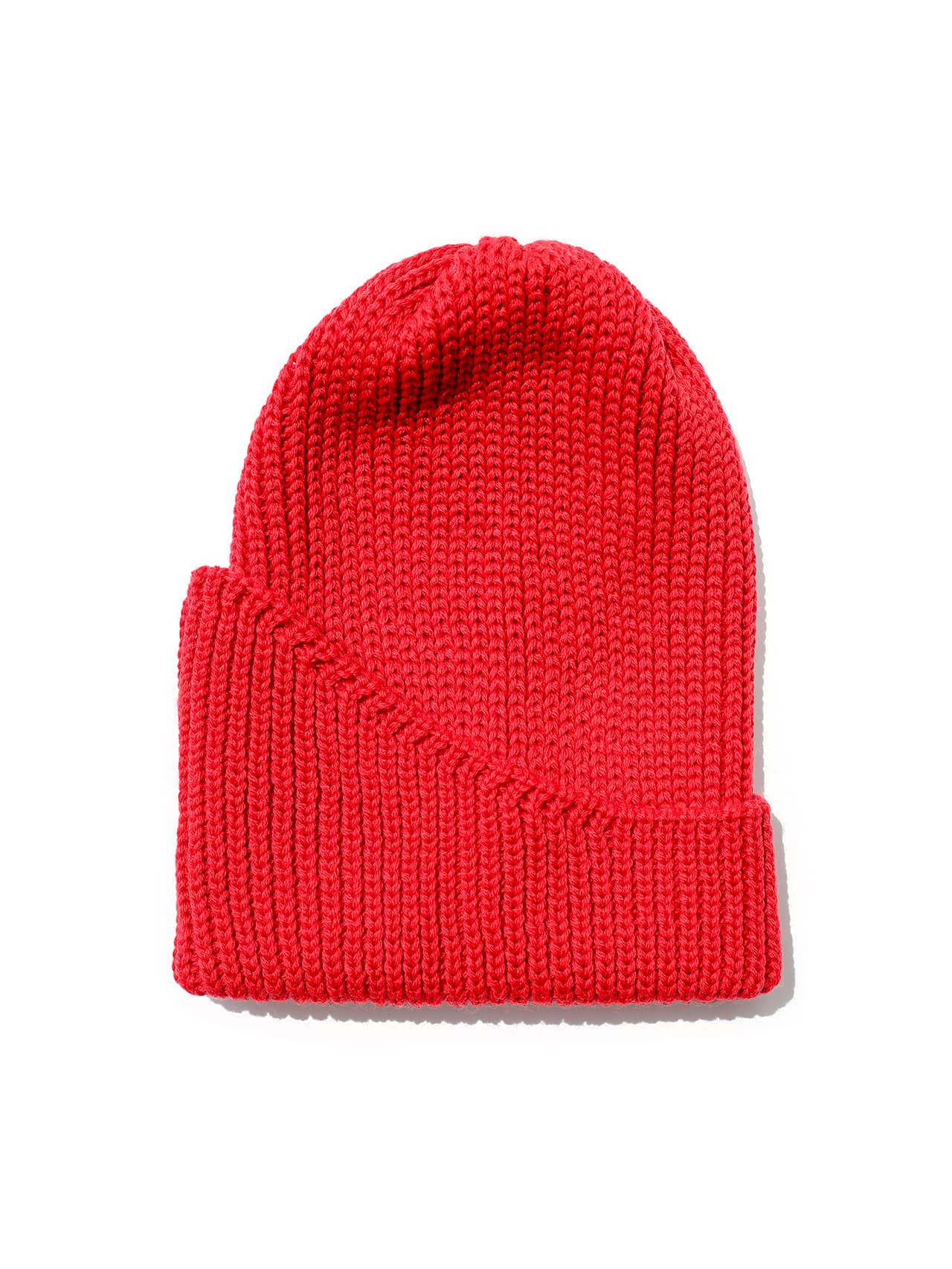 Reshaped Beanie merino - Red