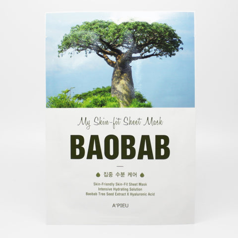 A'pieu My Skin-Fit Baobab Sheet Mask