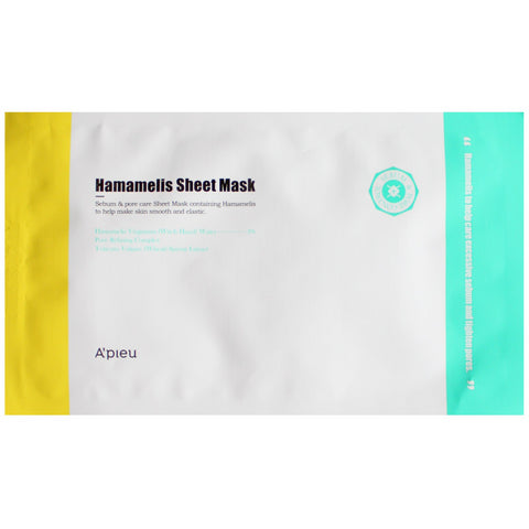 A'PIEU HAMAMELIS SHEET MASK