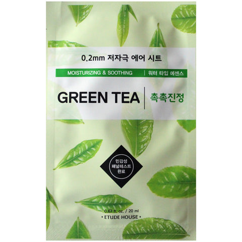 Etude 0.2 Therapy Air Mask (Green Tea)