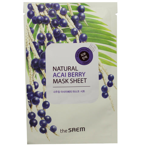 The Saem Natural Sheet Mask Sheet  (Value Pack)