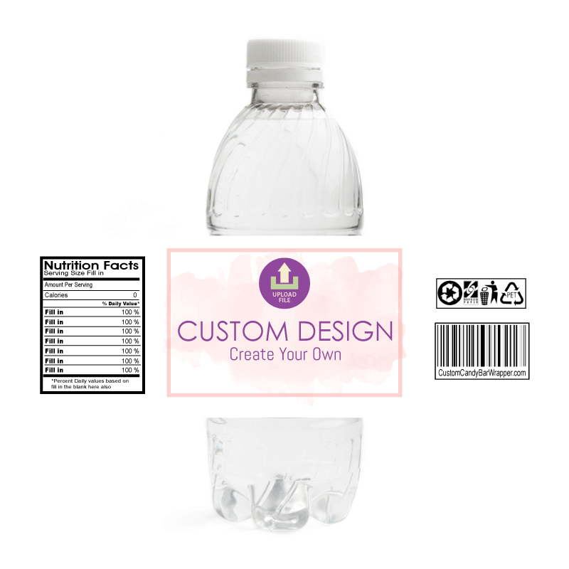 Custom Retirement Water Bottle Labels