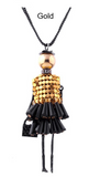 Doll Pendant Necklace Doll Pendants Long Necklace