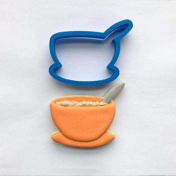Frosted Cookie Cutter Soup Bowl Cookie Cutter