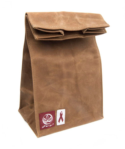 Organic Waxed Canvas Lunch Bag