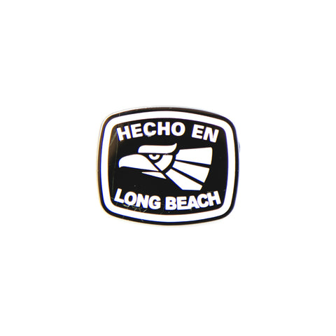 Hecho En Long Beach Lapel Pin
