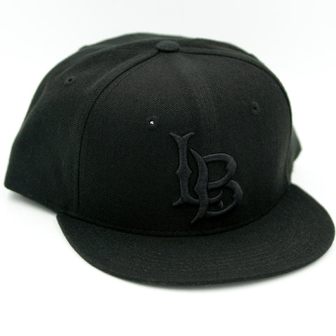 CSULB All Black Snapback