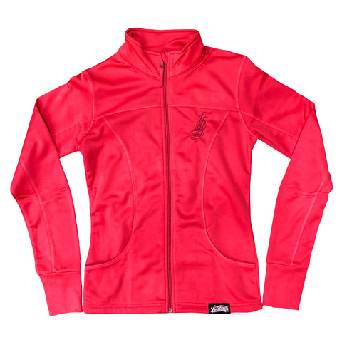 Cursive LB Women's Poly-Tech Coral Jacket