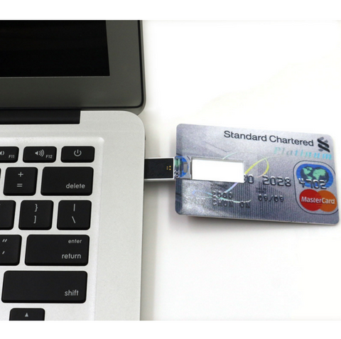 4 GB Credit Card USB Flash Drive - FREE