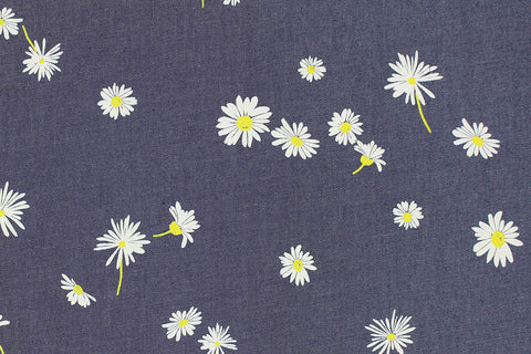 Art Gallery Fabric - The Denim Studio - Ragged Daisies
