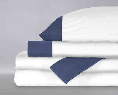 Banded Organic Sheet Set