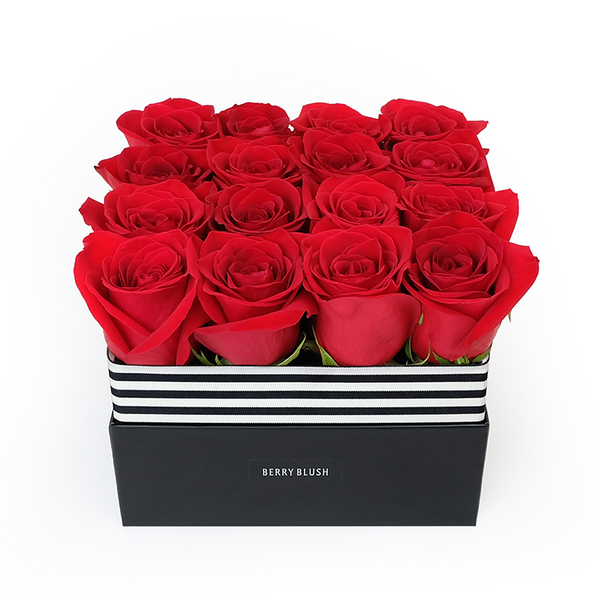 Rose box for birthday, anniversary and special day gift. Valentine's day flower. Toronto florist flower delivery