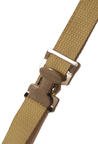 Build Your Own - 1 Kevlar Strap W/ Stainless 'alligator' Clip 6 Ft Contractor