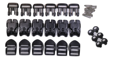Qty 6 Acw Spa Or Hot Tub Cover Locking Plastic Buckle Replacement Kit Spa