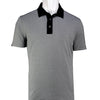 2GG - MENS THE DOC POLO - CHARCOAL/BLACK